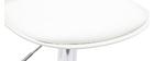 2 Design-Barhocker STEEVY Weiß