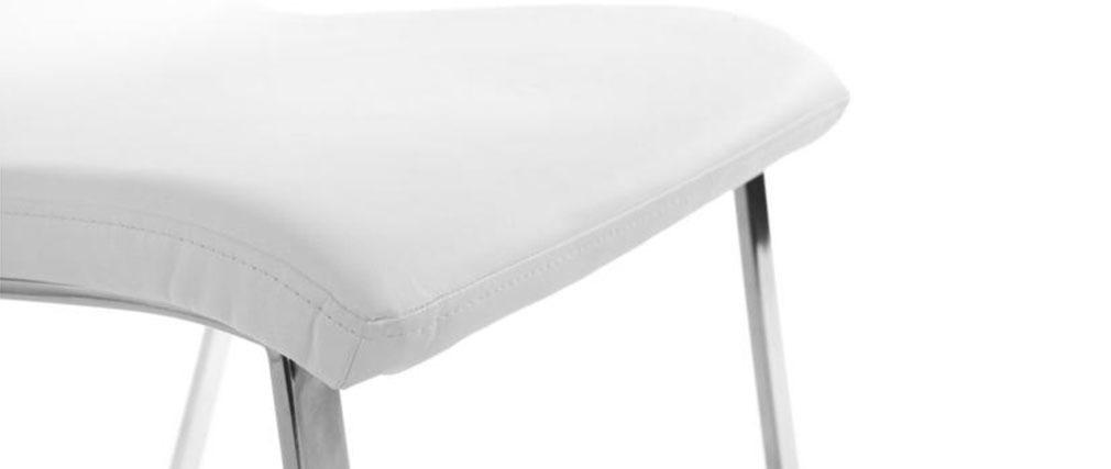 2 Design-Stühle BELLA Weiß