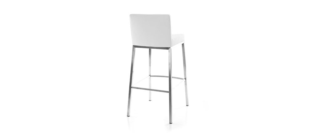 2er-Set Design-Hocker Weiß Epsilon