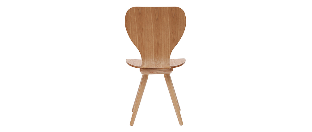 2er-Set Stühle aus Esche NORDECO