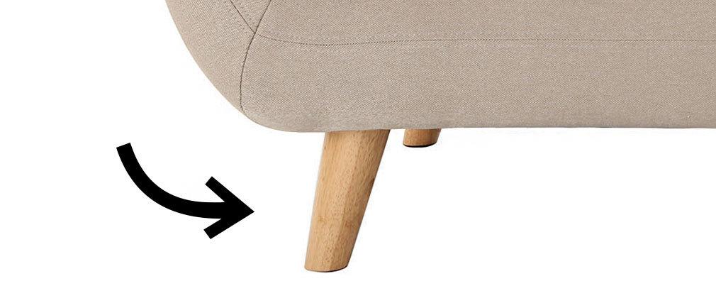 4er Set Füße helles Holz YNOK