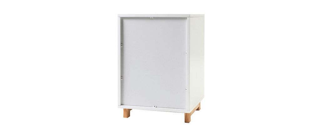 Aufbewahrungselement Weiß matt lackiert STOKA