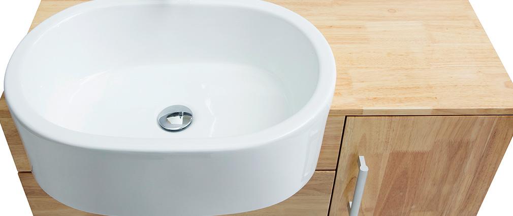 Badezimmerm bel waschbecken mit waschkommode und spiegel for Badezimmermobel im angebot