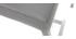 Barhocker Aluminium gebürstet PU Hellgrau 66 cm (2er-Set) OLLY