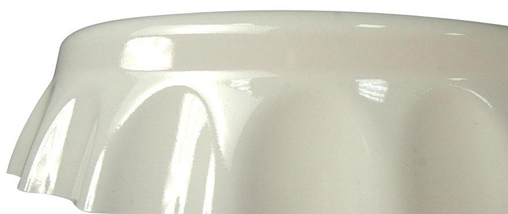 Barhocker / Küchenhocker Weiß CAPSULE (2 Stck.)