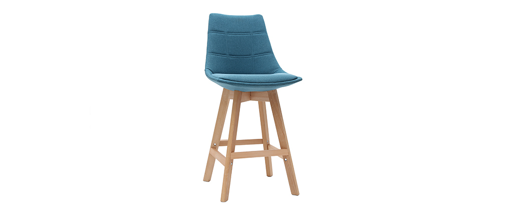 Barhocker skandinavisch Blaugrün 65 cm (2er-Set) MATILDE ? Miliboo |1| Stéphane Plaza