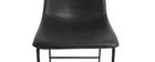 Barhocker Vintage PU Schwarz 73 cm 2er Set NEW ROCK