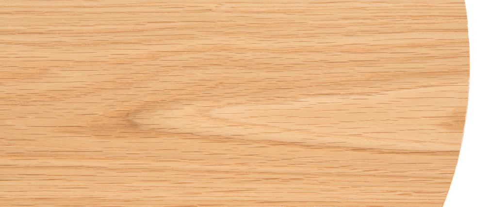 Beistelltisch Holz und Metall 42 cm LACE