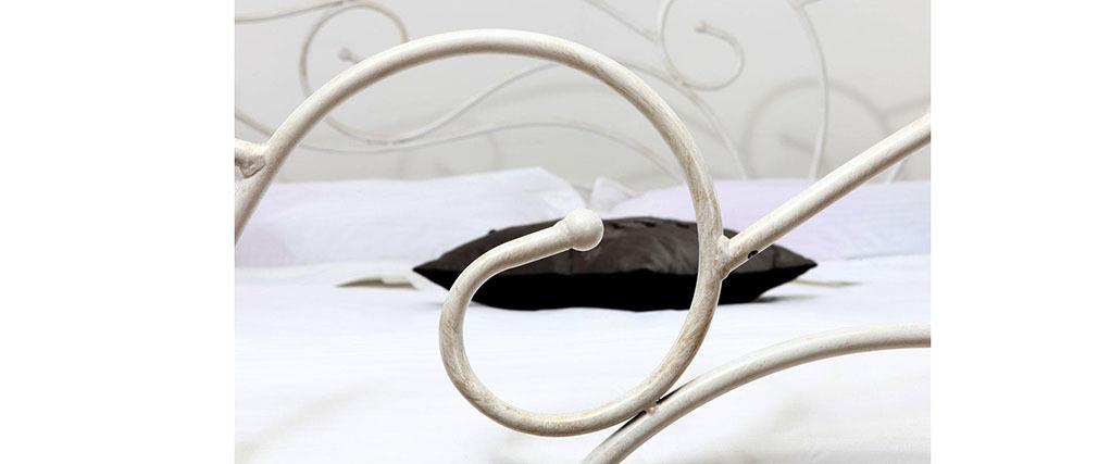 Bett im Barockstil 160x200 VENEZIA Weiß