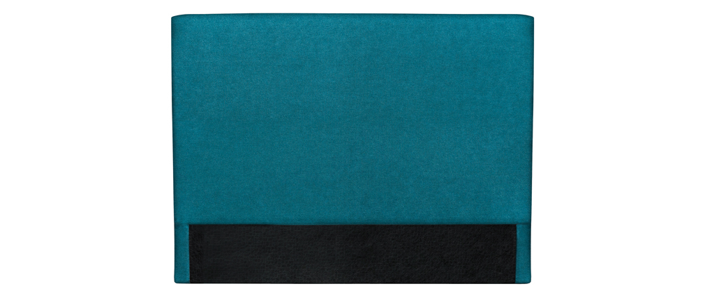 Bettkopfteil, blaugrüner Stoff, 140 cm ZORYA