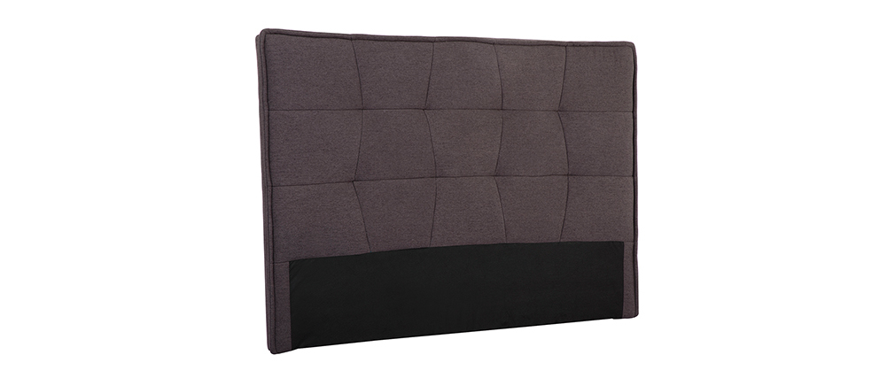 Bettkopfteil, dunkelgrauer Stoff, 150 cm SUKA