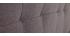 Bettkopfteil, dunkelgrauer Stoff, 170 cm SUKA