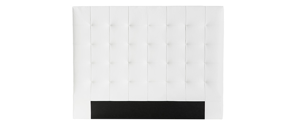 Bettkopfteil gepolstert Écru 160 cm HALCION
