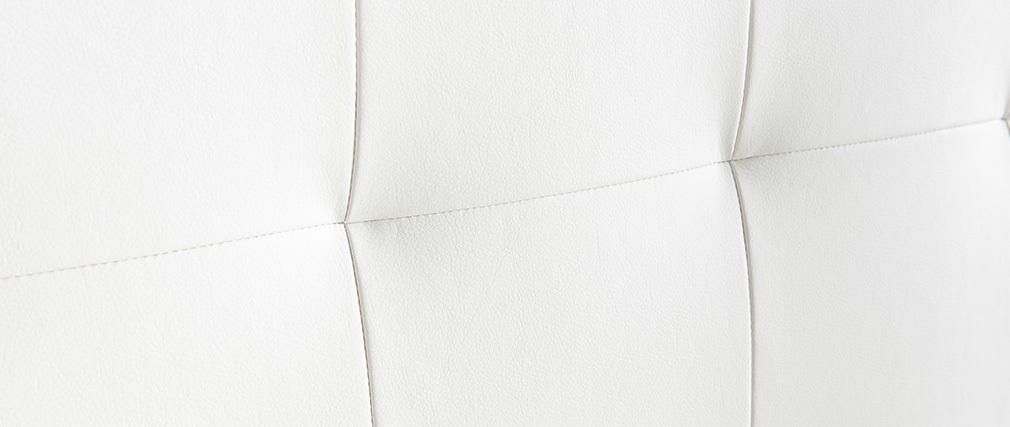 Bettkopfteil gepolstert Écru 160 cm HALCIONA