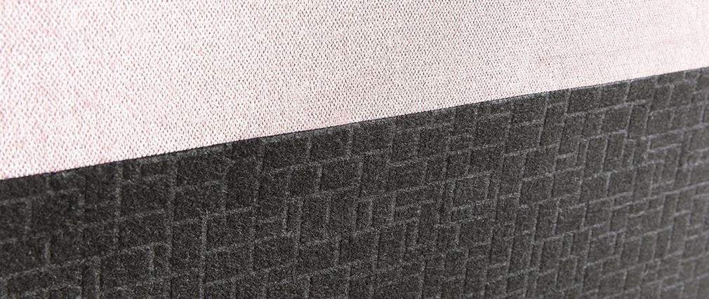 Bettkopfteil Puderrosa 140 cm ZORYA