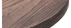 Bistrotisch Bartisch rund Holz und Metall CONTY