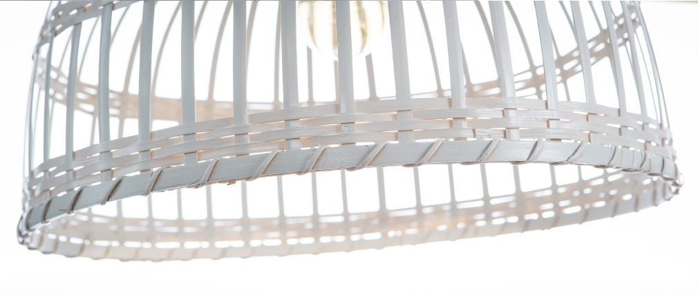 Bohème-Hängeleuchte EDEN aus Bambus, Ø 40 cm