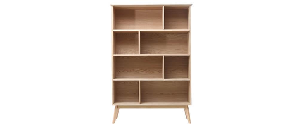 Bücherregal skandinavisch Eiche 165 cm INGRID
