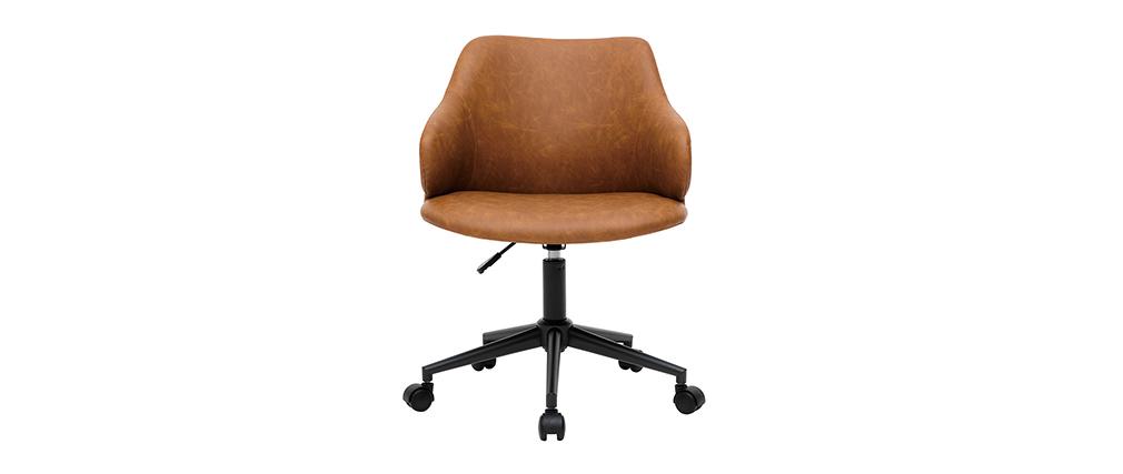 Bürosessel modern Braun HEMMY