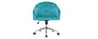 Bürosessel Samt Blaugrün SHARON