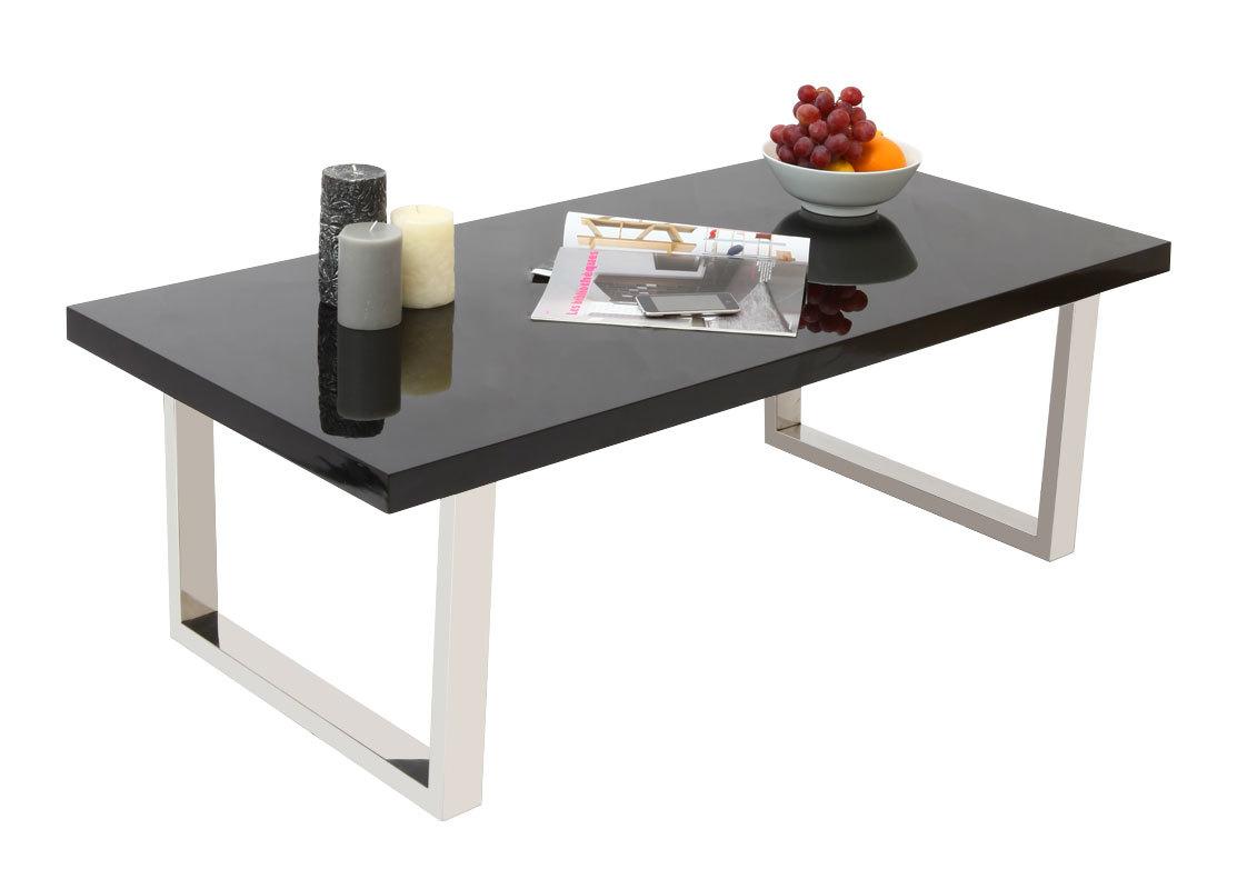 couchtisch halifax design lackiert schwarz miliboo. Black Bedroom Furniture Sets. Home Design Ideas