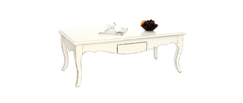 couchtisch rosala barock weiss miliboo. Black Bedroom Furniture Sets. Home Design Ideas