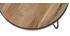 Couchtisch rund Industrie-Design 50 x 35 cm ATELIER