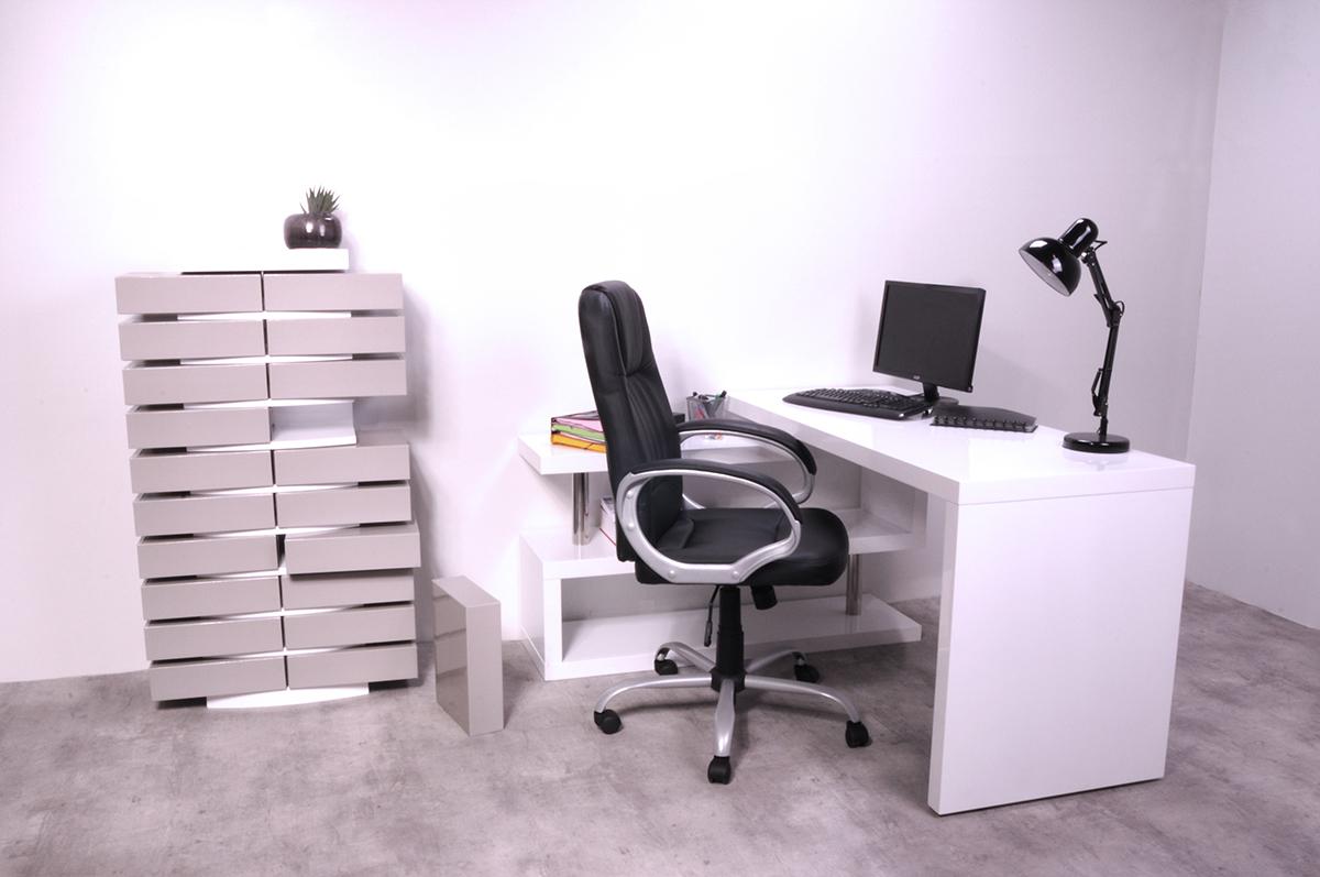 Design-Aktencontainer Weiß