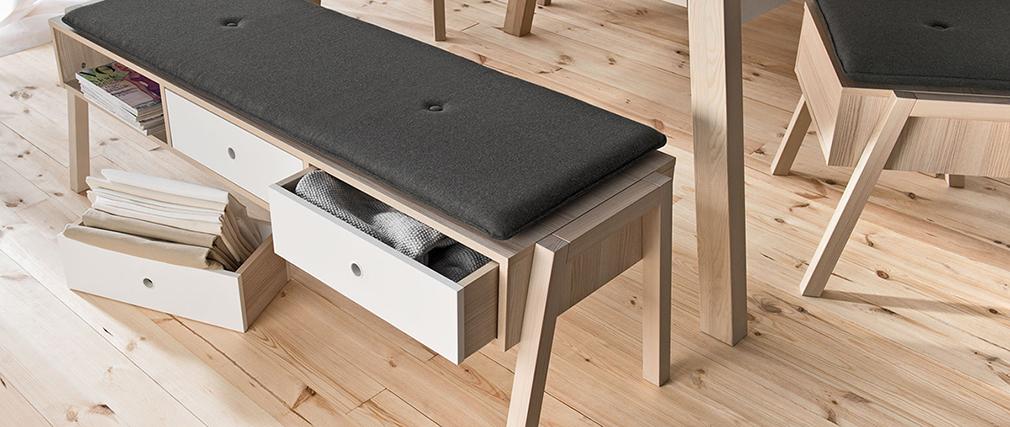Design-Bank mit Stauraum EASY
