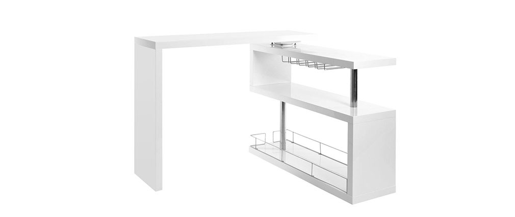 Design-Bar abnehmbar MAX Weiß
