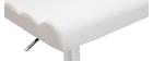 Design-Barhocker COLUMBUS Weiß