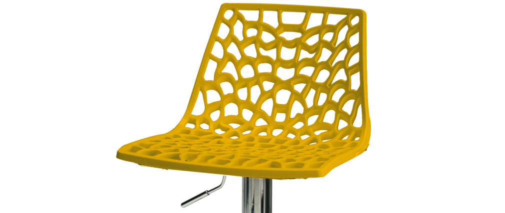 Design-Barhocker Gelb ATRAX