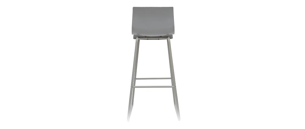 Design-Barhocker Grau 76 cm (2er-Set) ONA
