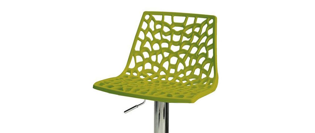 Design-Barhocker Grün ATRAX