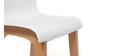 Design-Barhocker Holz und Weiß 65 cm 2 Stck. NEW SURF