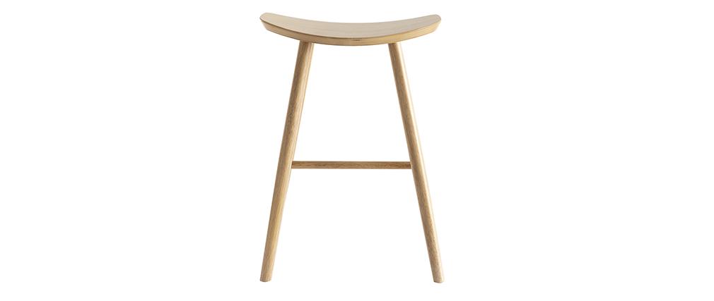 Design-Barhocker leichtes Holz 65 cm DEMORY