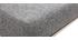Design-Barhocker Metall und Stoff Dunkelgrau 66 cm HALEY