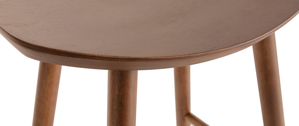 Design-Barhocker Nussbaum 65cm DEMORY