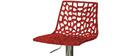 Design-Barhocker Rot ATRAX