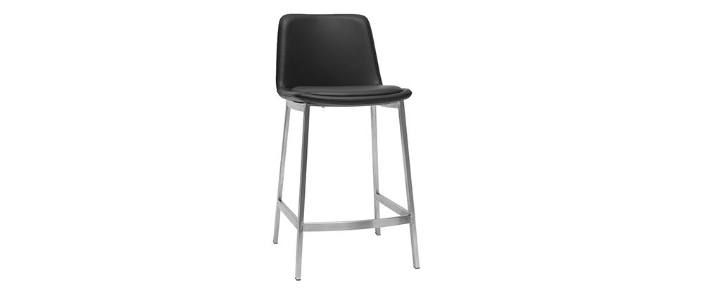 Design-Barhocker Schwarz 66 cm (2er-Set) ARSENE