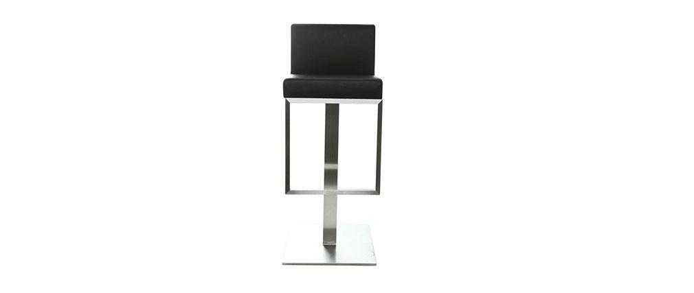 Design-Barhocker Schwarz OMEGA