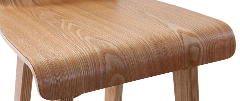 Design-Barhocker / -stuhl Holz naturell skandinavisch BALTIK