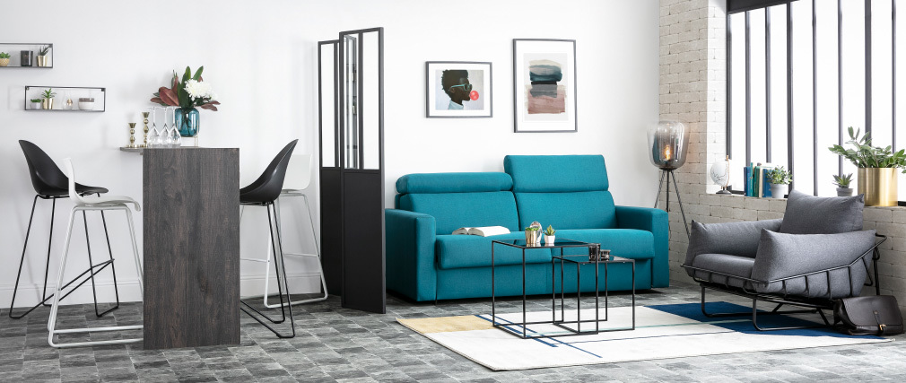 Design-Barhocker Weiß 76 cm (2er-Set) ONA