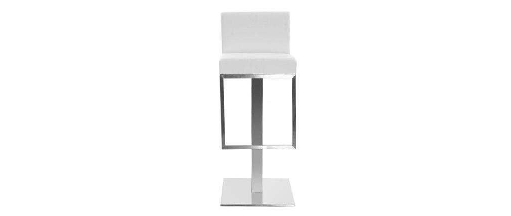 Design-Barhocker Weiß OMEGA
