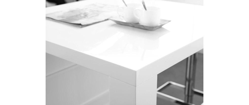 Design-Bartisch lackiert Weiß LIVO