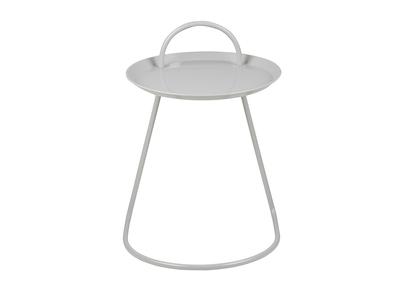 Design-Beistelltisch Metall Grau MOVE