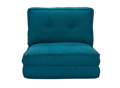 Design-Bettsessel Blau SALLY