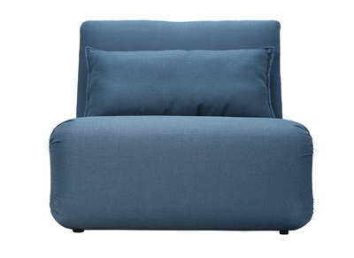 Design-Bettsessel Blau SLEEPER