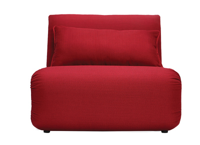 Design-Bettsessel Weinrot SLEEPER