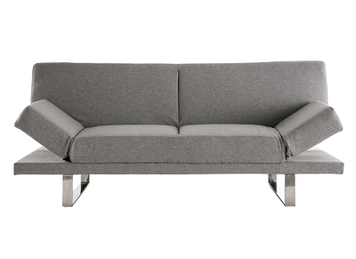 Design-Bettsofa ATLANTA Grau